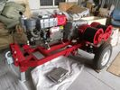 Industrial Engine Driven Winch , Portable Heavy Duty Diesel Engine Hoist