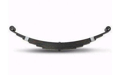 6 Layer Thickness 6mm Boat Trailer Leaf Spring Black Power Coating