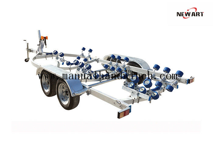 1500kg Heavy Duty Boat Trailer Kits Galvanized Steel RC Trucks Inflatable