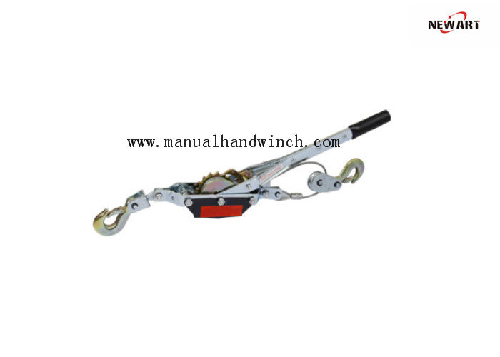 Single Gear Hand Cable Puller 3 Ton With Double Hooks Zinc Coated Surface
