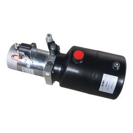 12V/24V Single Action DC Motor Mobile Hydraulic Power Pack Unit 16Mpa , 20Mpa